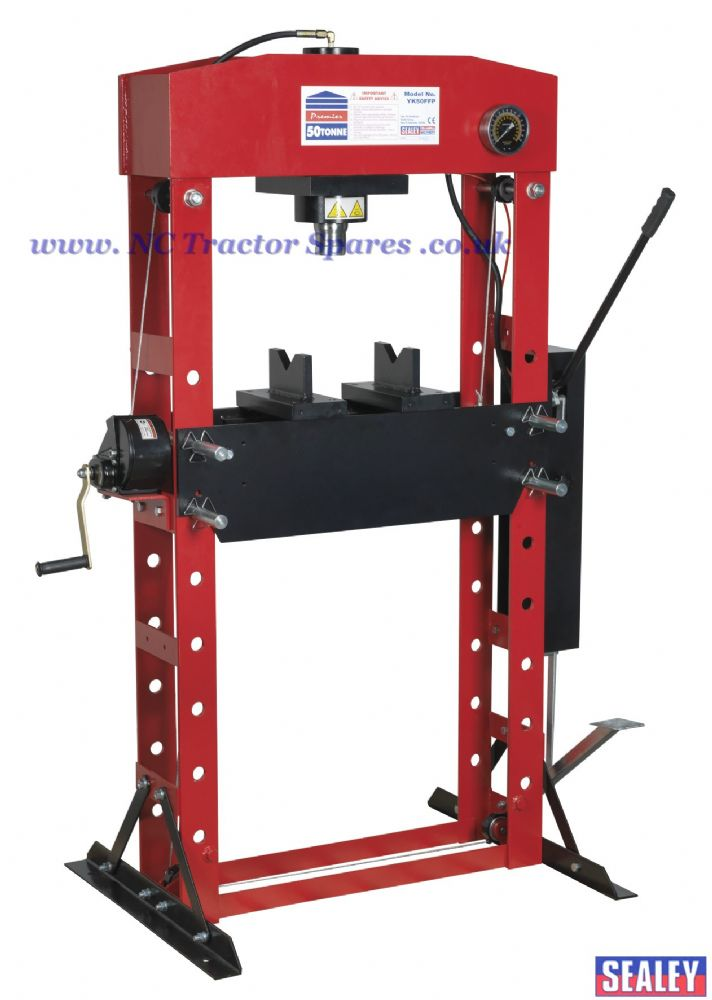 Hydraulic Press Premier 50tonne Floor Type with Foot Pedal